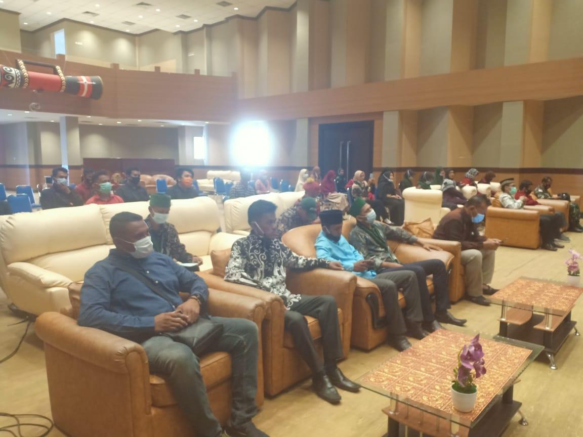 Suasana pembukaan senior course di Auditorium Kantor Bupati Merauke, Sabtu (19/20)/Net