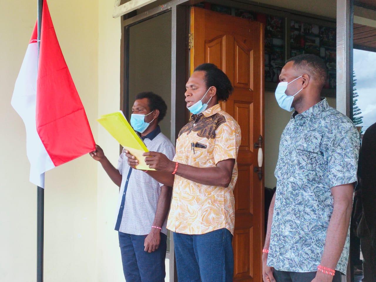 Tiga pemuda nyatakan sikap siap bergabung dengan NKRI