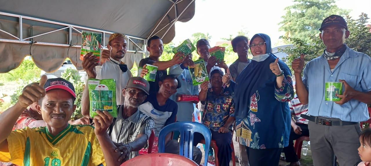 Fauzun Nihayah bersama masyarakat Kurik empat