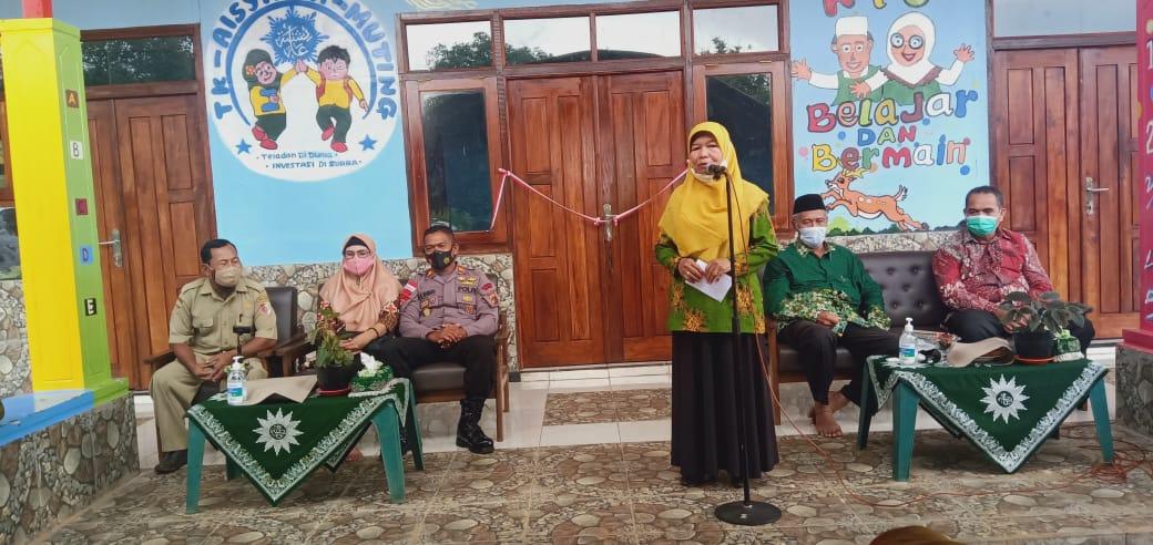 Ketua Aisyiyah Merauke, Rini Lestari saat menyampaikan sambutan/UB