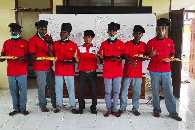 Peserta didik SMK Negeri 1 Okaba
