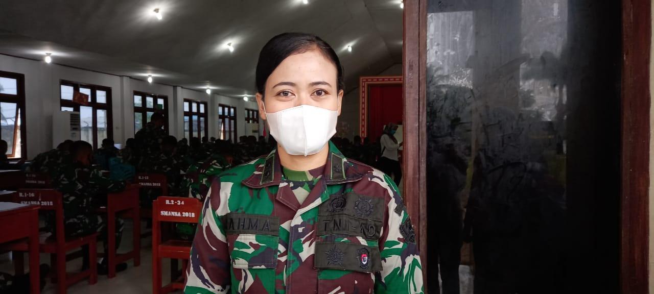 Letkol Caj (K) Faridyah Yulia Rahmawati, S.Psi., M.Psi., M.Han Psikolog TNI AD