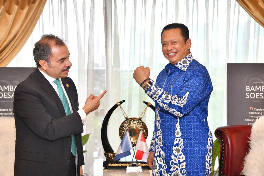 Ketua MPR RI bersama Duta Guatemala di Jakarta/Net