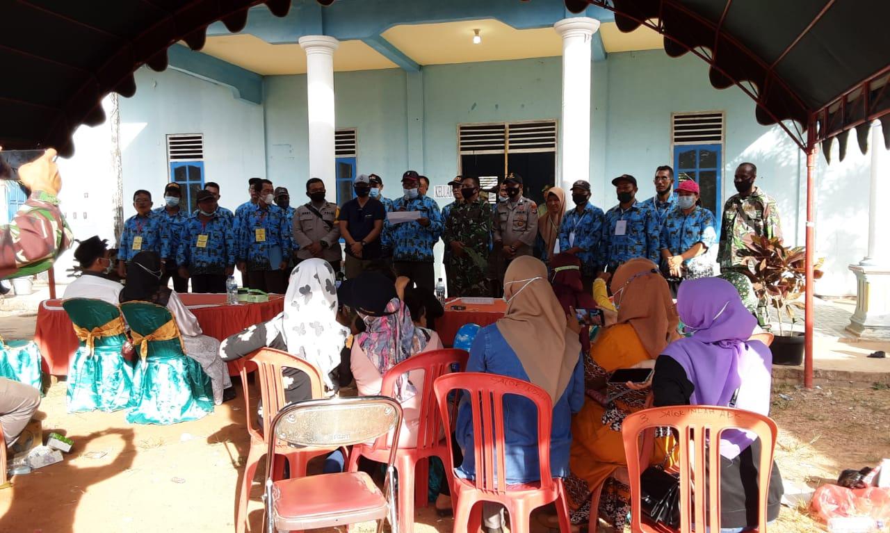 Suasana saat pemilihan kepala kampung Salor Indah/UB