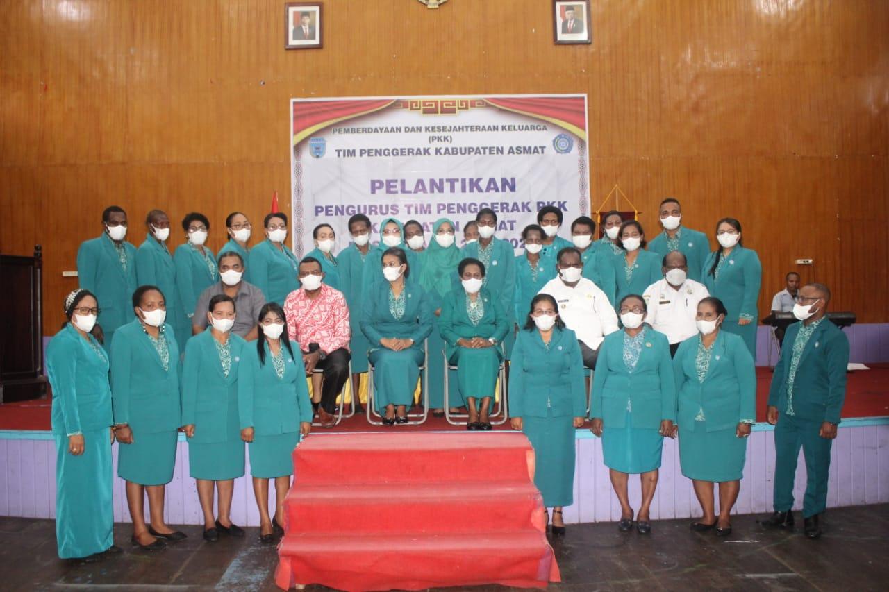 Tim PKK Kabupaten Asmat 2021-2024